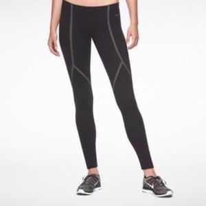 Nike Luxe Running Tights Black/Reflective Silver S
